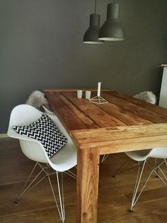 #Eames #Chair #scandinavianhome #blackandwhite #interieur