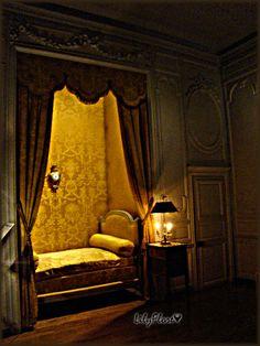 198 Vaux le Vicomte, la chambre praslin