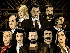 El Ministerio del Tiempo, wallpaper por Álex Muñoz.