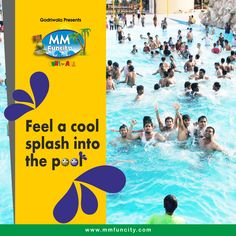 Feel the thrill on the twisting and twirling slides to feel a cool splash into the pool in this scorching temperature. Visit MM Fun City today and beat the heat. For More: https://goo.gl/Su9dWZ #MMFunCity #Rides #BestWaterpark #WaterPark #Thrill #Joy #Twist #Excitement #Fun