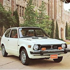 Honda Civic CVCC was one of the first mass produced Japanese cars sold in America in the early 1970's. #TBT