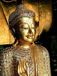 ✿ Gold Thailand Buddha Aline