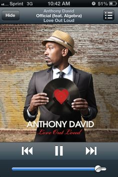 Anthony David: Love Out Loud