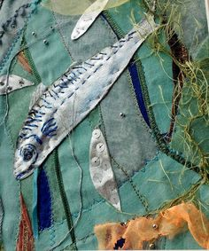 St Ives, Cornwall, Textiles, Textile Art, Printing, Stitching, Sewing, Embroidery, Dyeing, Quilting, Felt, Silk, Painting, Tate, mixed media