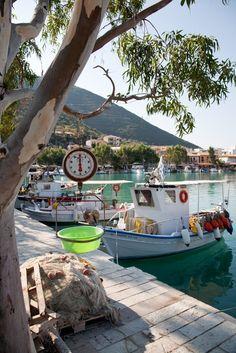 Vasiliki Harbour, Lefkada, Greece
