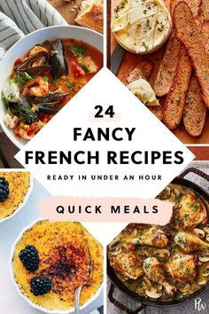 easyfrenchcooking frenchcooking frenchdinners frenchrecipes comfortfood cooking recipes purewow french recipe under fancy food hour make 24 Fancy French Recipes You Can Make in Under an HourYou can find French dinner recipes and more on our website French Recipes Dinner, French Dinner Parties, French Cooking Recipes, Easy French Recipes, Gourmet Recipes, Mexican Food Recipes, Healthy Recipes, Cooking Food, Healthy Food