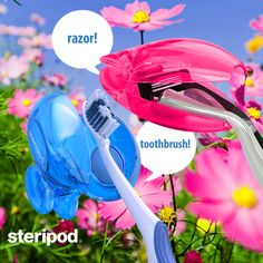 We LOVE nature at steripod! - its the inspiration for our colors and the reason steripods are BPA free and packaged on recycled paper!