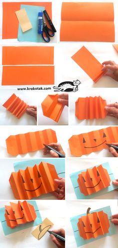 krokotak | Pumpkins – accordion-fold