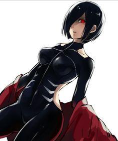 The Queen 😍 Touka Kirishima - Tokyo Ghoul Tokyo Ghoul Fan Art, Ken Tokyo Ghoul, Art Manga, Anime Manga, Touka Kaneki, Tokyo Ghoul Pictures, Tokyo Ghoul Wallpapers, Accel World, Anime Costumes