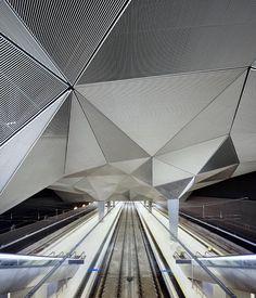 High Speed Train Station in Logroño.  Abalos+Sentkiewicz Arquitectos