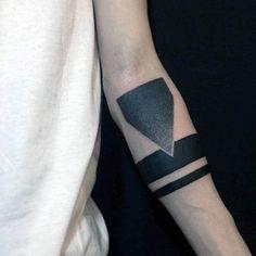Top 63 Armband Tattoo Ideas [2020 Inspiration Guide] Armband Tattoo Meaning, Tribal Armband Tattoo, Armband Tattoos For Men, Armband Tattoo Design, Wrist Tattoos For Guys, Forearm Tattoo Design, Tattoo Designs And Meanings, Tattoos With Meaning, Tattoo Designs Men
