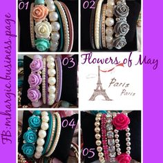 Flower Bracelet Perfect for your summer outfit!!  Price: Php 200  Ready for Shipping!   SMS / Viber : +639175085762 WeChat: Mhargic8 Follow  @msmhargic  on Instagram  For bulk orders | Resellers Email: mhargic.business@gmail.com PM: www.facebook.com/mhargic.business.page