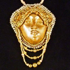 Hey, I found this really awesome Etsy listing at https://www.etsy.com/listing/11245304/beautiful-golden-celtic-goddess-queen
