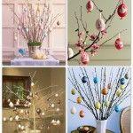 Bricolage de Pâques: un arbre de Pâques!