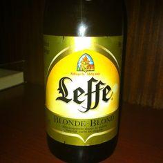 Leffe, cerveza de abadía. Otro clásico belga.