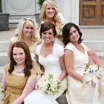 Modest bridesmaids dresses in Utah