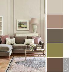 Home Interior Paint Schemes Colour Palettes 31 Ideas Home Interior, Home Living Room, Interior Design Living Room, Living Room Designs, Living Room Decor, Room Paint Colors, Paint Colors For Living Room, Bedroom Colors, Home Colour Design