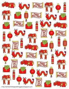 Find, Tally and Graph- Chinese New Year