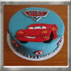 Sannn: Een Cars taart