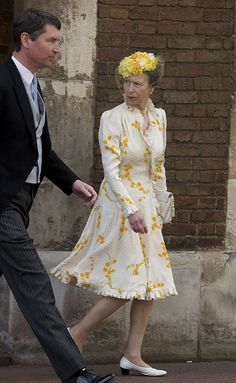 Princess Anne And Timothy Laurence Arrives At The Wedding Of Lady Rose Windsor, Youngest Daughter Of The Duke & Duchess Of Gloucester Who Marries George Gilman At The Queens Chapel, London. (Photo by Antony Jones/UK Press via Getty Images) Prince William Girlfriends, Kate Middleton Legs, Timothy Laurence, Wedding News, Royal Princess, Royal House, Royal Weddings, Queen Elizabeth Ii, Duke And Duchess