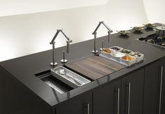 Modern Kitchen Sink: Stages 45 inch Stainless Steel Kitchen Sink