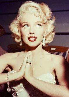 'Diamonds are a girl's best friend.'    Sung by Marilyn Monroe  Written by Jule Styne  From Gentlemen Prefer Blondes