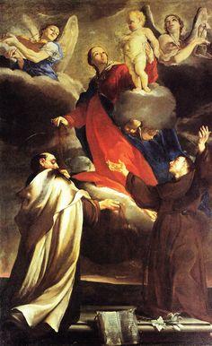 Giuseppe Maria Crespi -  Madonna del Carmine e Santi - 1690