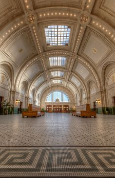 The beautiful Union Station in Seattle!