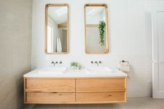 Kyal and Kara Long Jetty Reno Bathroom Renos, Laundry In Bathroom, Bathroom Interior, Master Bathroom, Bathrooms, Bathroom Vanity Designs, Bathroom Inspo, Bathroom Inspiration, Kyal And Kara