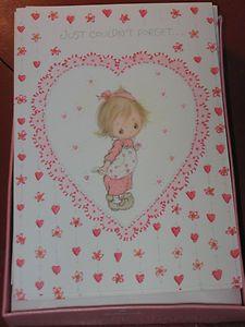 Vintage 1971 Betsey Clark Hallmark Valentine Cards Envelopes Unused | eBay