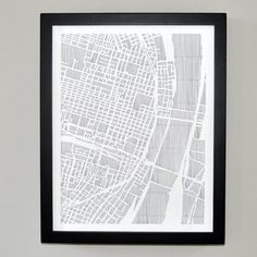 St. Louis City Print 11x14 now featured on Fab.