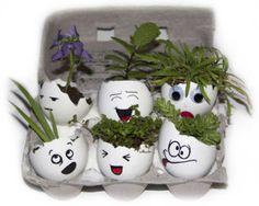 best KIDS GREEN GARDEN egg craft ever!!!