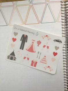 Wedding Planner Stickers by inanutshellplanning on Etsy