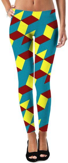 Dark Trip Trance Custom Dubstep Revolution Style Leggings by Willy Badu.