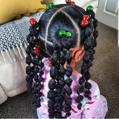 Little Girls Natural Hairstyles, Lil Girl Hairstyles, Black Kids Hairstyles, Kids Braided Hairstyles, Black Toddler Girl Hairstyles, African Hairstyles For Kids, Amazing Hairstyles, Braid Styles For Girls, Curly Hair Styles