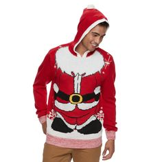 #Christmas For sale online Men's Hooded Ugly Christmas Sweater, Size: Medium, Red for Christmas Gifts Idea Deals . Have you tried searching within the special offers and also clearance regions of your selected merchants? You can find many offers and also unnoticed stylish Christmas outfits  types that were wear sa...