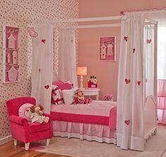 Decoração Pink para Quarto de Menina, Decoração de Quarto Infantil   Vanessa Guimarães