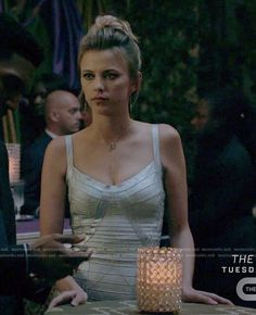 WornOnTV: Freya's silver bandage dress on The Originals | Riley Voelkel | Clothes and Wardrobe from TV