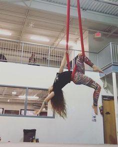 Copy catting my love USA Aerial Hammock, Aerial Hoop, Aerial Arts, Aerial Acrobatics, Aerial Dance, Aerial Silks, Pole Fitness, Ayurveda, Yoga Poses