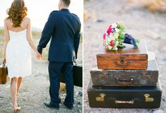 I love the suitcases as accessories!