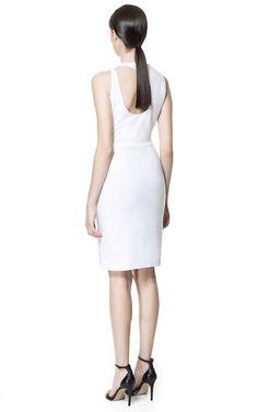 VESTIDO ABERTURA ESPALDA - Vestidos - Mujer - ZARA Estados Unidos de América