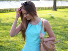 Danish blogger Sandra Willer in mbyM summer dress <3