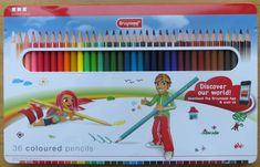 Bruynzeel 36 Coloured Pencils Essentials