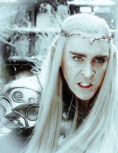 #LeePace as #Thranduil in The Hobbit: The Battle of the Five Armies via enfantdivine on Tumblr.