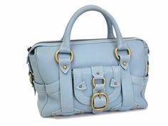 Celine Hand bag Leather Light Blue (BF055511)