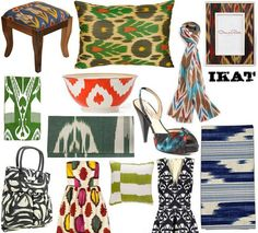 Ikat anything! I love it !