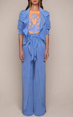 Holly Embroidered T Shirt by JOHANNA ORTIZ for Preorder on Moda Operandi