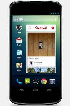 Pinterest Joins with Telefonica on Android Widget - Digits - WSJ