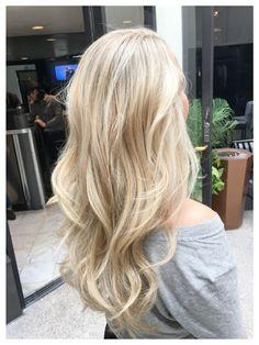 Giuseppe Franco Salon Blonde highlights #hairbyamiej To make an appointment email amiejay32@yahoo.com