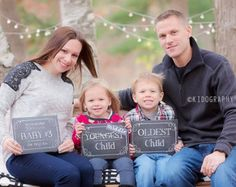 pregnancy announcement with siblings - Google Search
